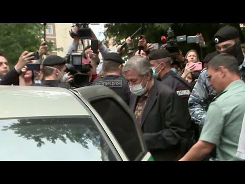 В суде над Михаилом Ефремовым прозвучали предположения об управлении его автомобилем из космоса.