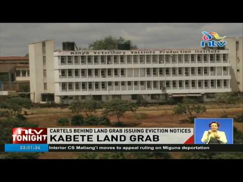 Directorate of veterinary services land in Kabete allegedly grabbed