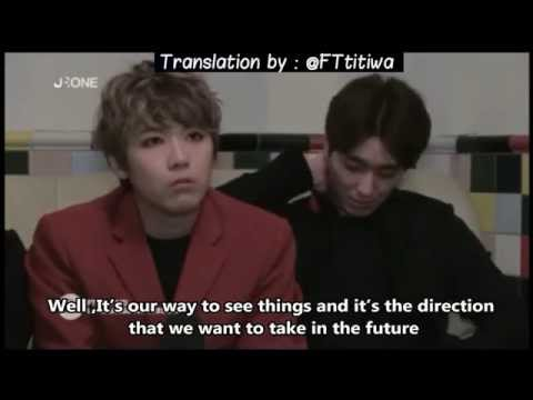 [ENG SUB]FT ISLAND -Interview by a French channel