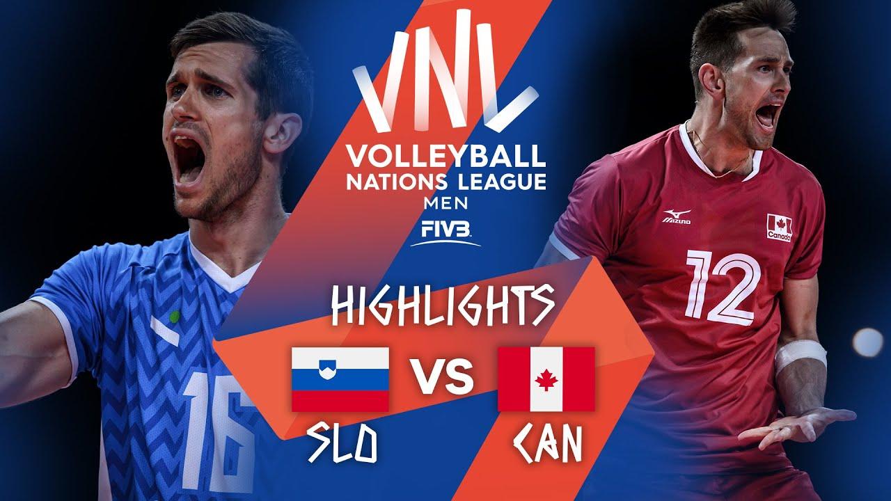 Download SLO vs. CAN - Highlights Week 3 | Men's VNL 2021