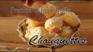 Try these delicate French sugar puffs! Details in my blog: http://c...