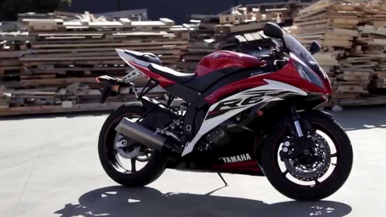 Bikelife Bike Review - 2015 Yamaha R6 - YouTube