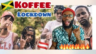 Koffee - Lockdown (Official Video) * FREEZY REACTION*
