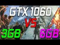 GTX 1060 3GB VS 6GB - Does More VRAM Make That Big Of A Difference