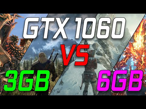 GTX 1060 3GB VS 6GB  Does More VRAM Make That Big Of A Difference