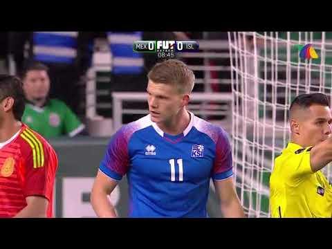 México vs Islandia / Primer Tiempo (Chrsitian Martinoli y Dr. Garcia / TV Azteca)