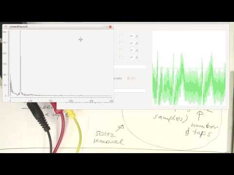 Demonstrating realtime processing with FIR filters (0009)