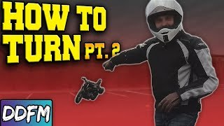 How To Turn Your Motorcycle (CORRECT WAY)