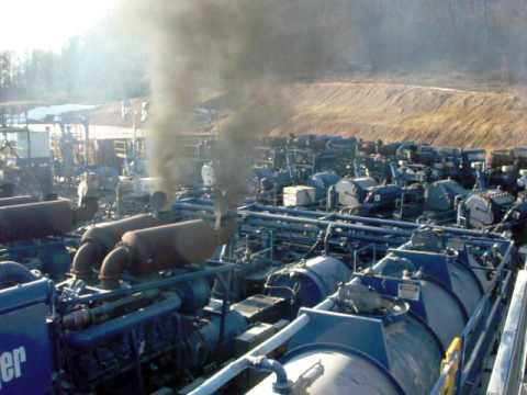 frac pumps throttle up
