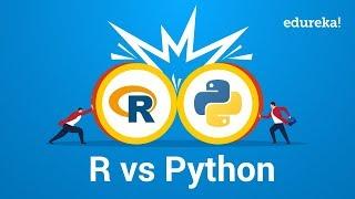 R vs Python | Best Programming Language for Data Science and Analysis | Edureka