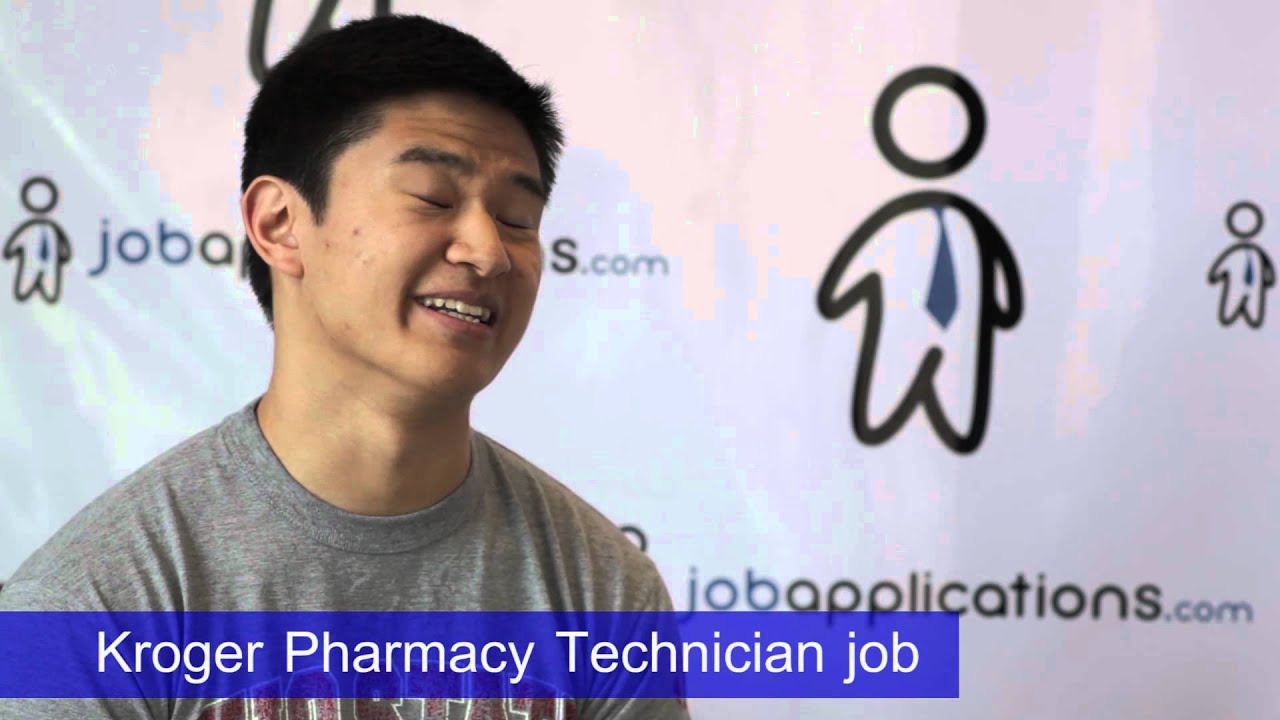 kroger interview pharmacy technician