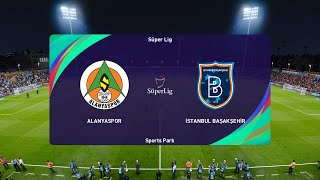PES 2021 Alanyaspor vs Istanbul Basaksehir Turkey Super Lig 02 01 2021 1080p 60FPS