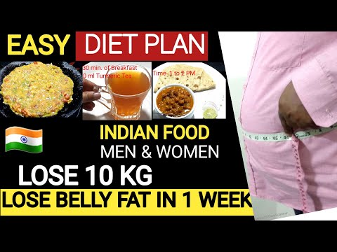 Simple&Easy Diet Plan to Lose Weight Fast in Hindi|How to Lose 10 Kg Weight in 14 Days By Azra Anwar