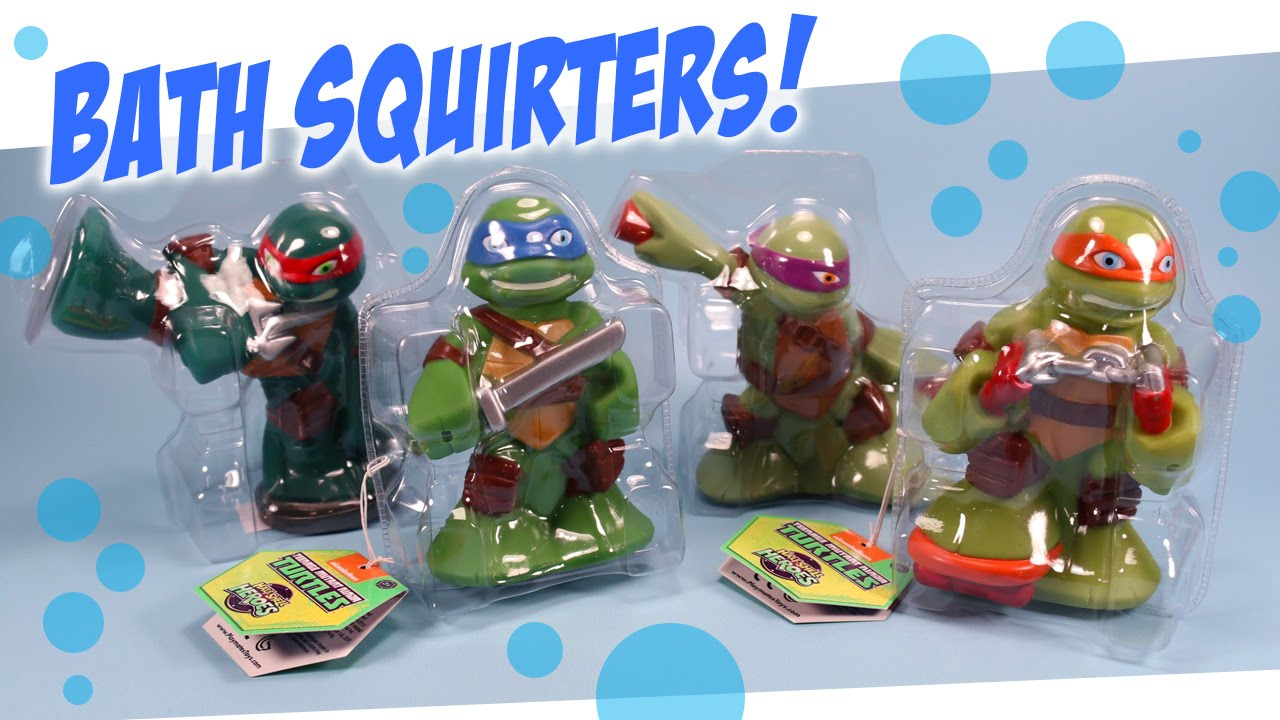 Ninja Turtle Bathroom | Teenage Mutant Ninja Turtles Bath Squirters Half Shell Heroes