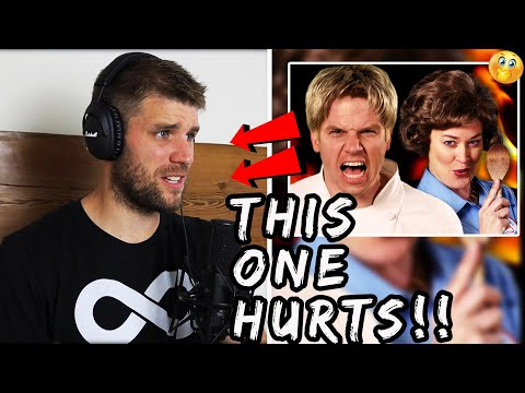 Rapper Reacts to Epic Rap Battles Of History!!   GORDON RAMSAY VS JULIA CHILD (WHO WANTS BEEF?!)