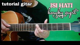 Hengky supit - ISI HATI - tutorial gitar