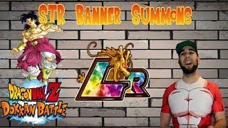 DBZ Dokkan Battle   The Return of Summon Videos!   STR Banner