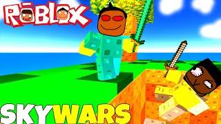 ROBLOX SKYWARS: Offbrand Minecraft Edition