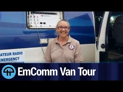 Emergency Communications Van Tour