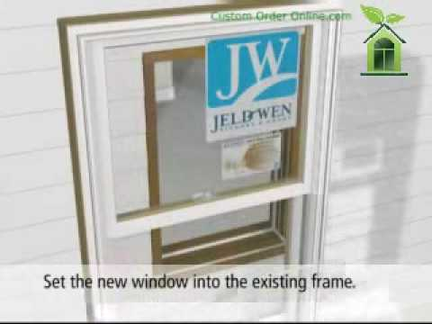 Jeld Wen Wood Clad Replacement Window Installation How To