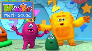 Monster Math Squad: Fun With Trianlges, Squares, and Stars thumbnail