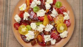 A real quick Caprese salad. Don't f&$k it up.