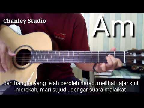 Belajar Gitar - O Holy Night