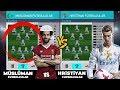 MÜSLÜMAN FUTBOLCULAR vs HRİSTİYAN FUTBOLCULAR - PES 2018 TÜRKÇE