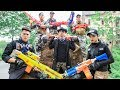 Nerf Guns War : S.W.A.T Men Of TTNerf Team Special Fight Ninja Super Boss XX Criminal Dangerous