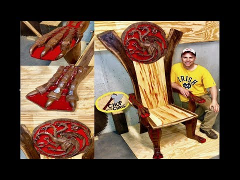 How To Build A Dragon Throne Chair