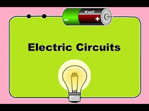 Electrical Circuits Series And Parallel For Kids YouTube