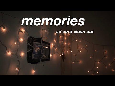 memories (SD card clean out)