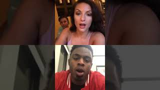 Big Brother 20 Rachel IG Live with Swaggy talking about the House Meeting Aug 8, 2018.