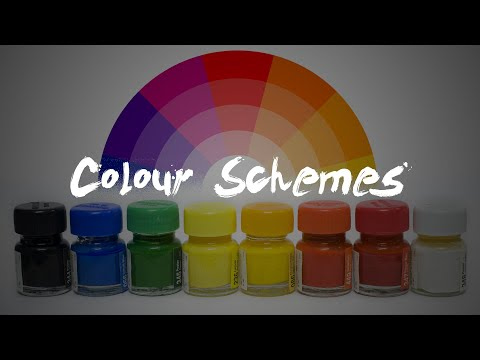Colour Schemes | 2D Design | Cool | Warm | Primary | Secondary | Monochromatic | Achromatic
