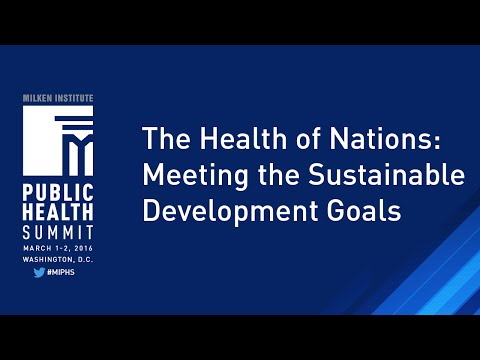 The Health of Nations: Meeting the Sustainable Development Goals