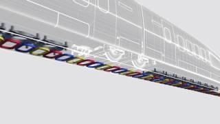 600km/h급 레일방식 초고속철도