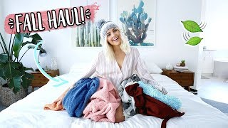 Fall Haul 2017! Urban Outfitters, Free People & More! | Aspyn Ovard