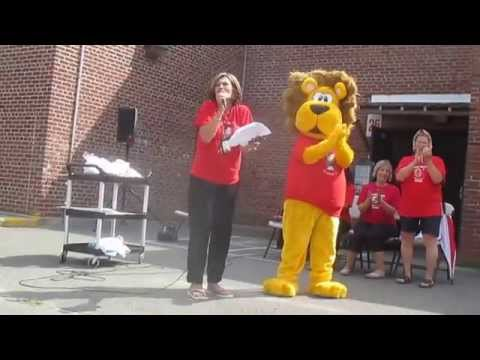Jane Ryan School Ice Bucket Challenge 2014