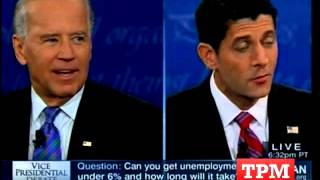 Biden Hits Ryan For Asking For Stimulus Funds