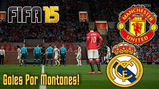 FIFA 15 | Manchester United vs Real Madrid | PC Gameplay