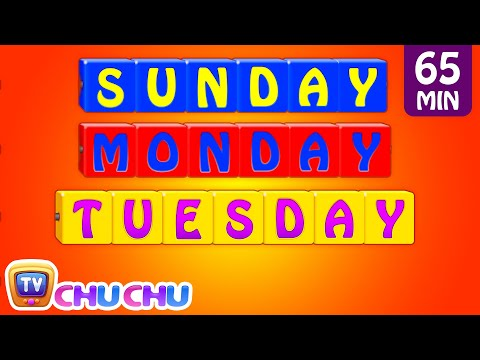 Thumbnail: Learn/Teach Days of the Week Song, Alphabets, Colors, Numbers Nursery Rhymes for Kids | ChuChu TV
