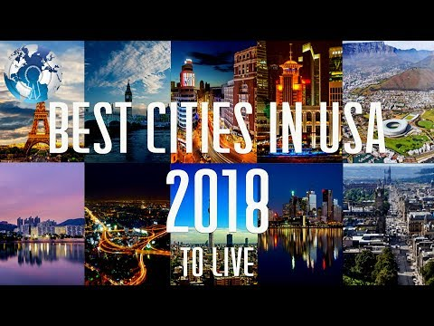 US Top 10 Best Cities to Live in United States in 2018