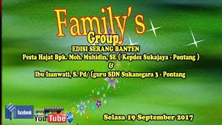 Video Live FAMILY'S GROUP download MP3, 3GP, MP4, WEBM, AVI, FLV Oktober 2017