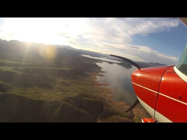 Grapevine, AZ Airstrip - Landing on RW 17