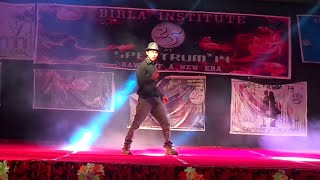 Solo Dance in Birla Institute Of Rahul Semwal (D-Boys)