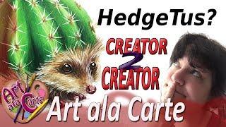 Drawing a Hedgetus ...a Cacthog?