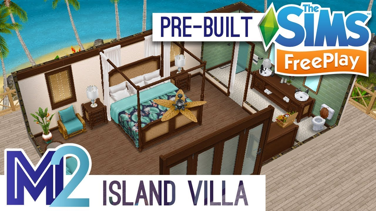 Island Haus Kaufen Sims Freeplay Private Island Villa Pre Built Template