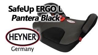HEYNER SafeUp ERGO L Pantera Black — бустер — видео обзор 130.com.ua