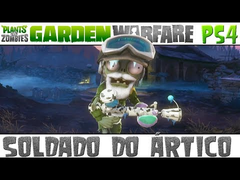 Plants vs. Zombies Garden Warfare - Soldado do Ártico