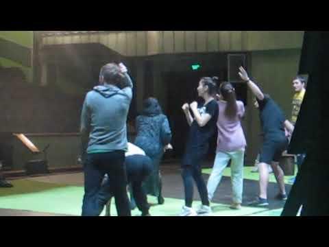 Репетиция в театре имени Бестужева в Улан-Удэ